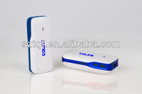2013 5200mAh Mini Roteador Wireless 3g Manufacturer And Exporter 3G Wifi Router