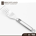 FDA or LFGB Stainless steel slotted spatula spoon