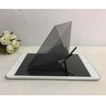 2019 new models 3D holographic projector for Smartphone/Hologram 3D Display, Mini Pyramid Hologram