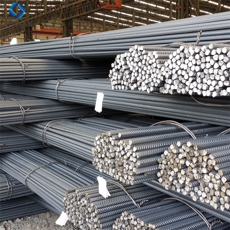Hot rolled BS4449 460B B500B steel rebar size, concrete iron