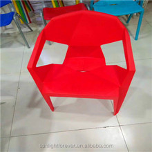 Wholesale swivel plastic chair restaurant used Hotel Dining Leather Chair Modern Design