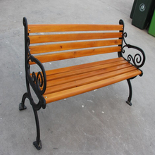 Customized metal outdoor bench
