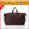Leather Big Handbag genuine leather Weekend travel Bags duffel luggage without wheels