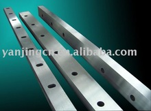 Swing beam shear blade