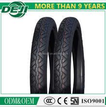 China manufacturer most populer pattern natural rubber motorcycle tyres 2.75-18 3.00-18