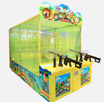 2019 good selling shooting & fighting arcade game machine for kids