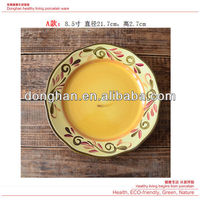 high quality wholesale ceramic plates with decal