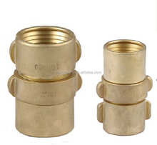 brass NST fire hose coupling forged 1.5~2.5""