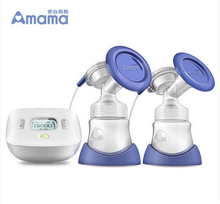 breast pump enlarge with twin cup