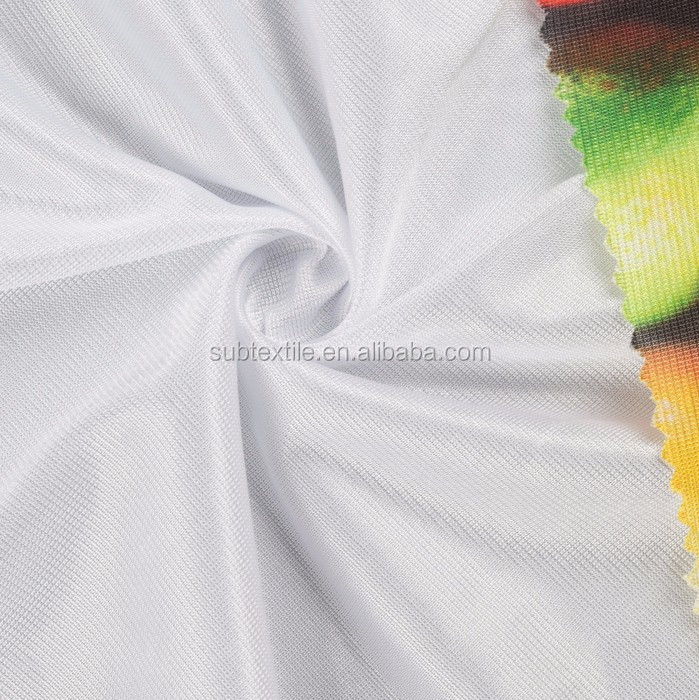 90gsm Dazzle white polyester fabric sublimation digital printing fabric nylon fabric sublimation