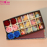 New design innovative colorful candy with luxury gift box