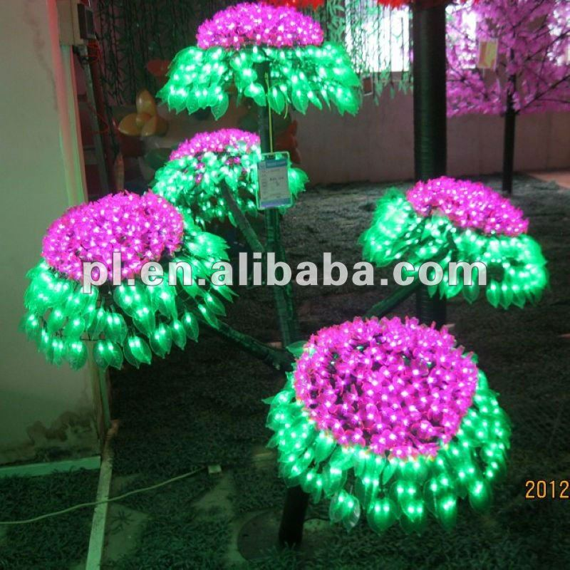 Newest GRB led cherry blossom trees light for holiday