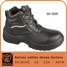 kevlar safety boot and high-cut steel toe safety working shoes with en 20345 SC-2245