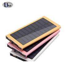 2017High Quality Powerbank 20000mah Ultra Thin Power Bank Mobile Solar Charger