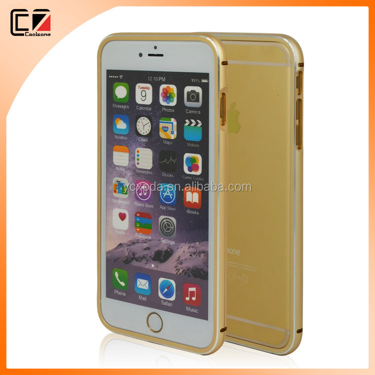 Fashionable aluminun bumper cover for iPhone 6 plus