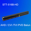New arrival 16chs power/video balun HUB-END for AHD/TVI/CVI STT-516B-HD
