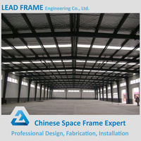 Quick installation steel structure prefabricated warehouse building