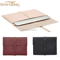new fashion genuine leather laptop hand bag leather tablet clutch bag tablet case leather sleeve for ipad