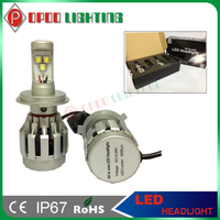 All in one 3000lm H4 cree 2pcs cree 1512 led head light h4