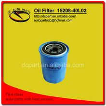 oil filter 15208-40L02 for NISSAN