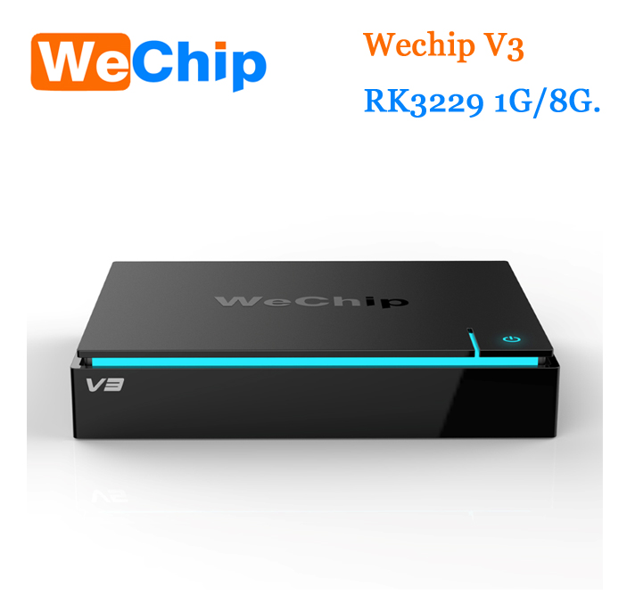 Paypal Accept !New Rockchip Rk3229 1g/8g Android 5.1 Smart Tv Box wechip v3 from JoinWe