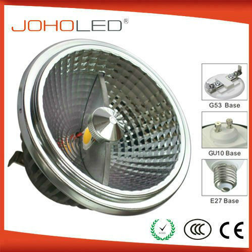 2013 new high quality ar111 led g53 dimmable/ ar111 cob 15w dimmable