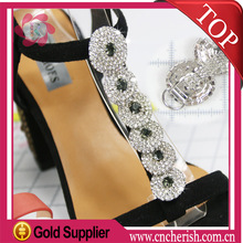 2015 jibbitz shoe charms,I shape rhinestone shoe chain for girls