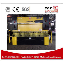 WE67K-400/4000 squre tube roll bending machine with bending machine manual with bearing lead screw