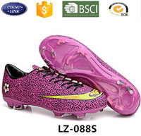 New Children Athletic Shoe With Robber Men zapatos de futbol Indoor Cleats Football Soccer Boots chaussures de foot