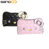 Wholesale fashion hello kitty wallet for girls, cute posh hello kitty purse