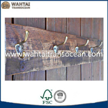 Gorgeous and rustic coat rack,wooden clothes hanger holder
