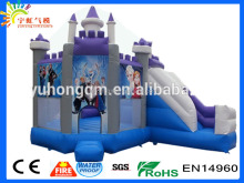 Wholesale pvc tarpaulin inflatable jumping castle slide frozen bunk bed
