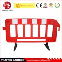 Good quality 2 Meter Plastic Portable Reflective Barrier Fence, Trade Assurance