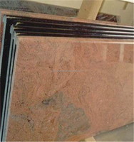 granite countertop types of tiles for kitchen, red granite kitchen countertop
