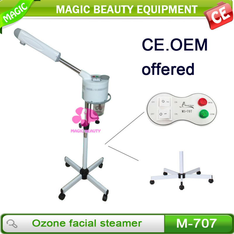 High Quality Stand Digital Spa Vapozone Hot Facial Steamer With Wholesale Price