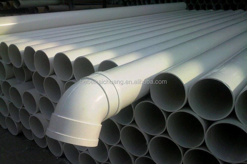 Trade Assurance Manufacturer UPVC PIPE ISO4422