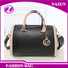 2017 Popular Wholesales Luxury Lady Pillow Bags Leather Handbag Boston Bag For Women
