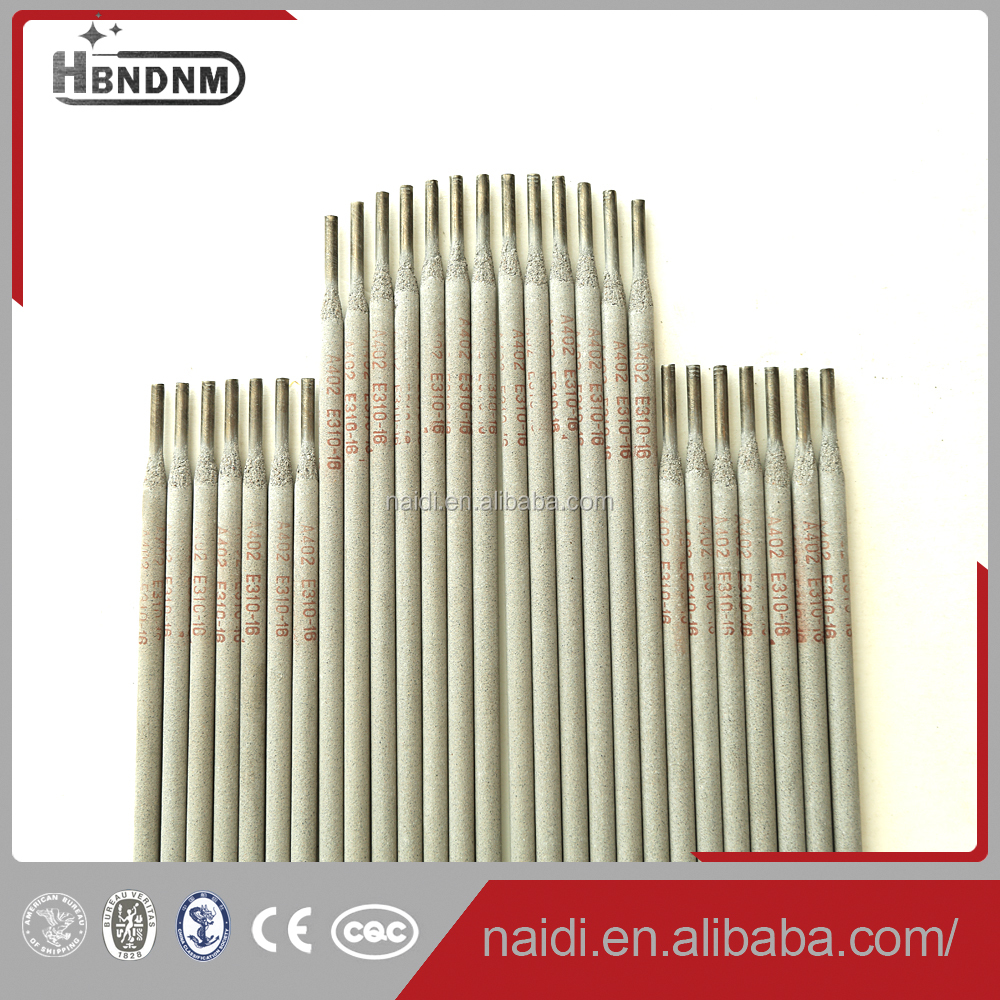 4mm AWS A5.4 E310-16 stainless steel names of welding rod