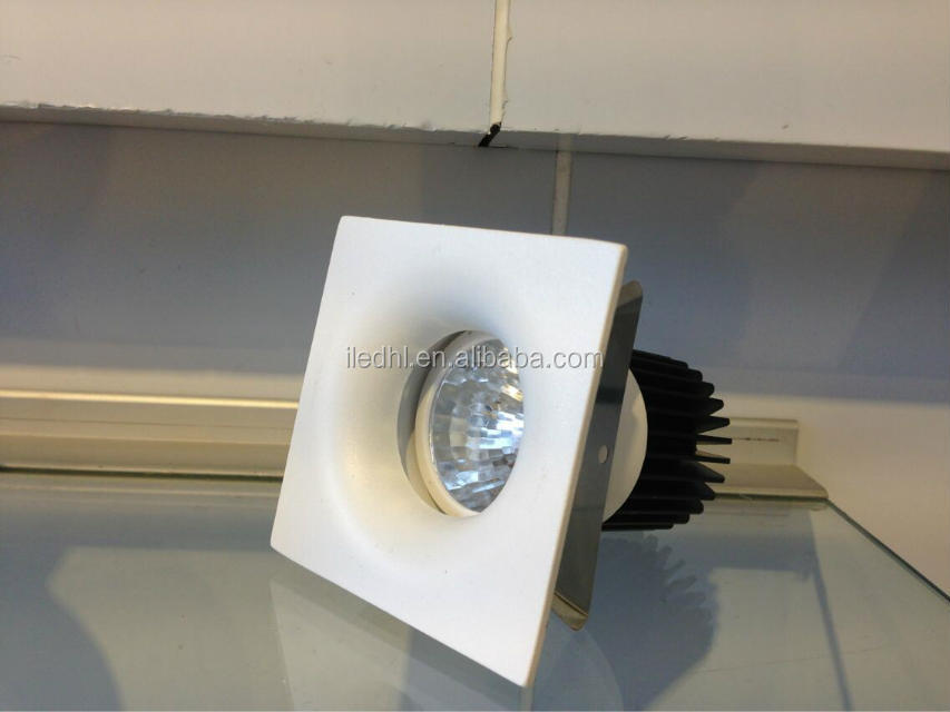 3 years warranty high brightness CE RoHs 10w COB LED DownLight