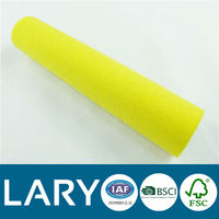yellow foam lint free paint roller