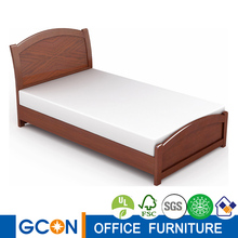 Durable Solid Wood Home Hotel Bed