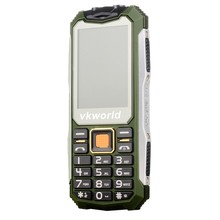 Fashion Original Mobile Cell Phone VKWORLD V3S 2.4 inch Button Cellphone IP68 Waterproof With Camera