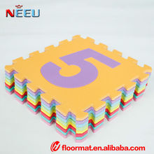 funny hot sale educational baby play toys, number letters foam play mat with cheap price
