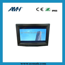 7/9 inch cheap Chinese tv taxi; portable dvd player with bluetooth; taxi LCD ad player