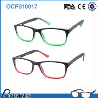 2016 fashion double color wood and fak acetate glasses material new model italian eyewear brands optical glasses spectacle frame