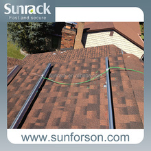 Pitched Shingle /Slate Roof PV Panel Mounting Support System