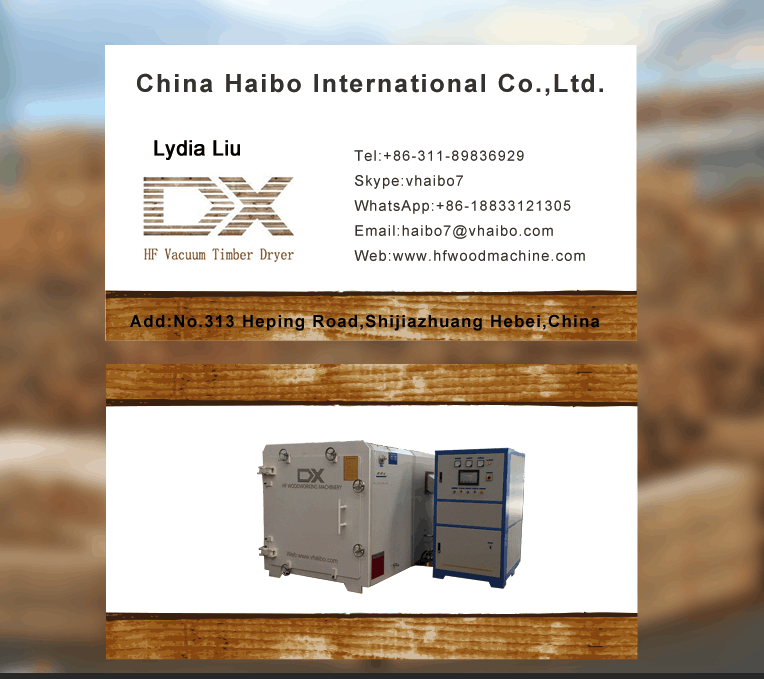 Glass fiber reinforced plastic material vacuum timber dryer machine