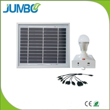 Money saving energy saving solar electricity home system for rural areas