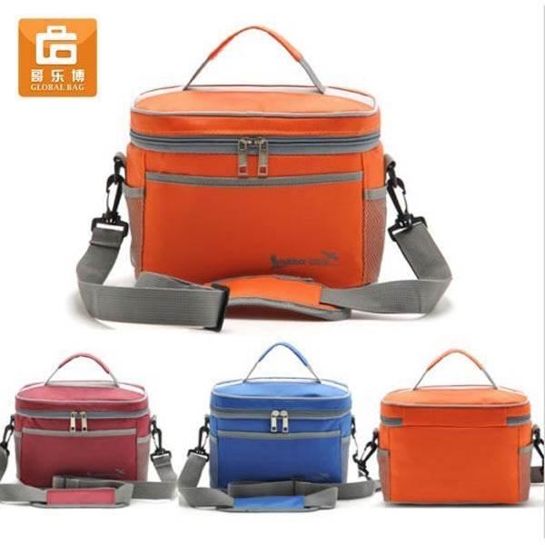 Thermal Cooler Waterproof Insulated Design Portable Carry Tote Picnic Lunch Bag