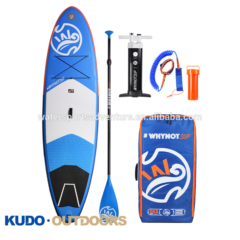 Factory Supply Wholesale 11Ft Soft Top Inflatable Sup Stand Up Paddle Board